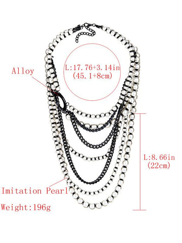 Pretty Multilayer Tassels Necklaces Accessories