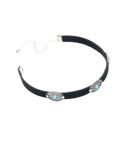 Fashion Simple Choker Clavicalis Turquoise Necklaces Accessories