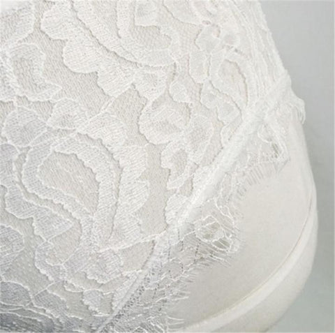 Lace Dress Underwear Babydoll Lingerie Nightwear Sleepwear G-string - White