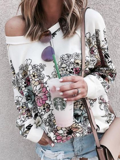 Stylish Floral Print Top
