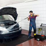 KARCHER HDS 6/10 C 110v Hot Water High Pressure Cleaner in anthracite 11699060