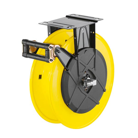 KARCHER Hose Reel (only), Steel, Yellow-Black Painted