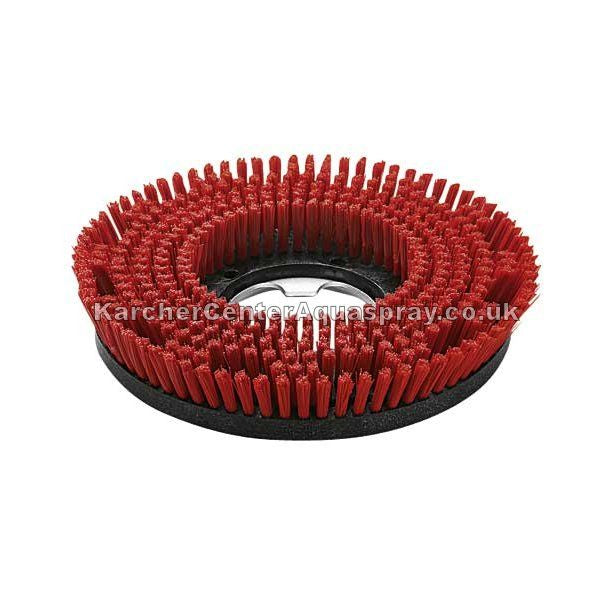 KARCHER Single Disc Brush, Red, Medium, 430mm 63698950