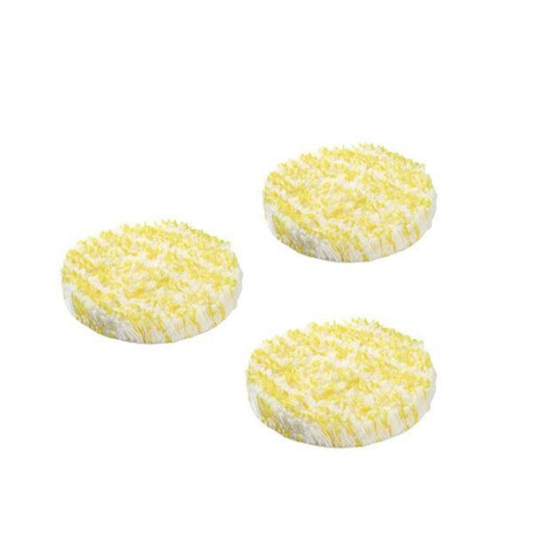 KARCHER Pack Of 3 Stone, Linoleum & PVC Flooring Polishing Pads For The FP303 2863198