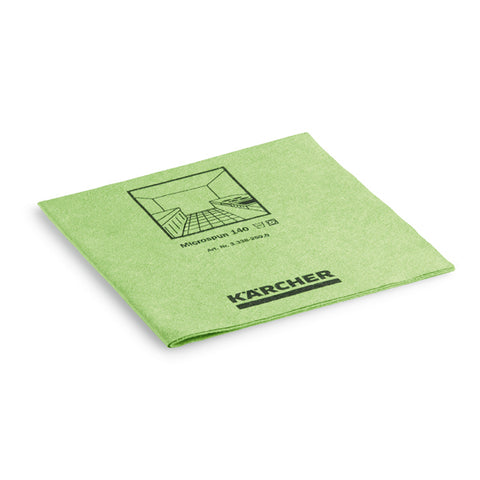 KARCHER Microspun Microfibre Cloth, Green