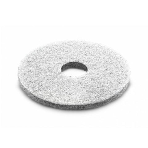 KARCHER 5 Pk Of Diamond Pads, Coarse, White, 356 mm
