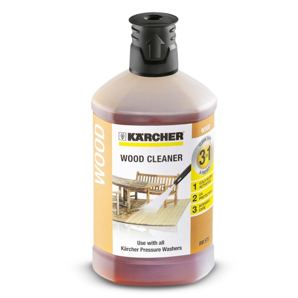 KARCHER 3-in-1 Wood Cleaner Plug 'n' Clean System 6295757