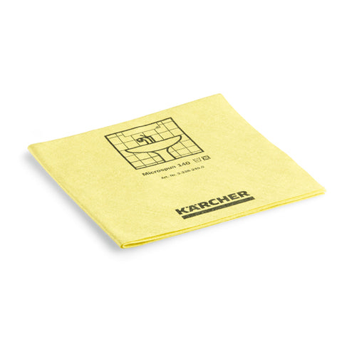 KARCHER Microspun Microfibre Cloth, Yellow