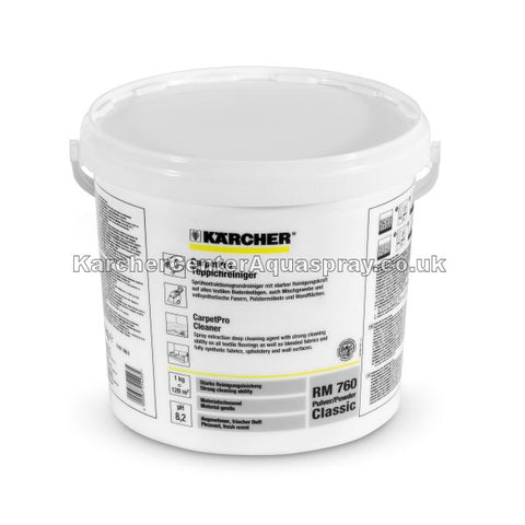 KARCHER Carpet Pro Cleaner RM 760 Powder Classic 10 kg