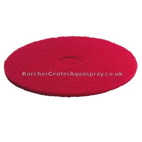 KARCHER Single Disc Pad, Red, Medium Soft, 508mm 6369079