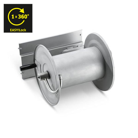 KARCHER Hose Reel Add-on-kit, Stainless Steel, EASYLock!