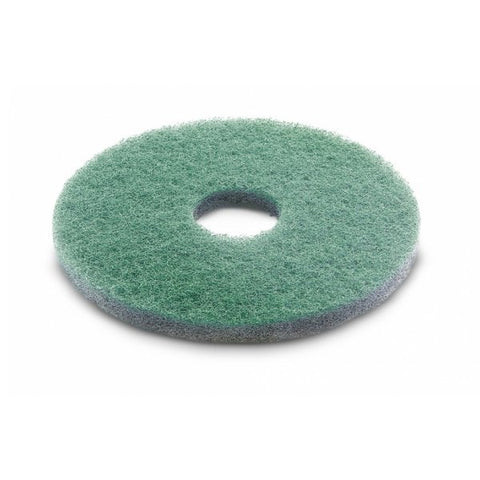 KARCHER 5 Pk Of Diamond Pads, Fine, Green, 356 mm