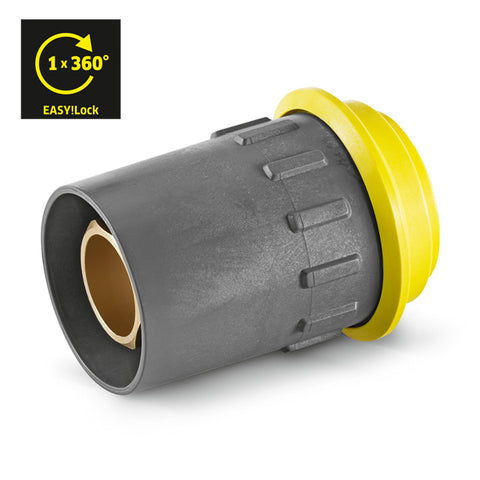 KARCHER Quick-Fitting Pipe Union Coupler EASY!Lock
