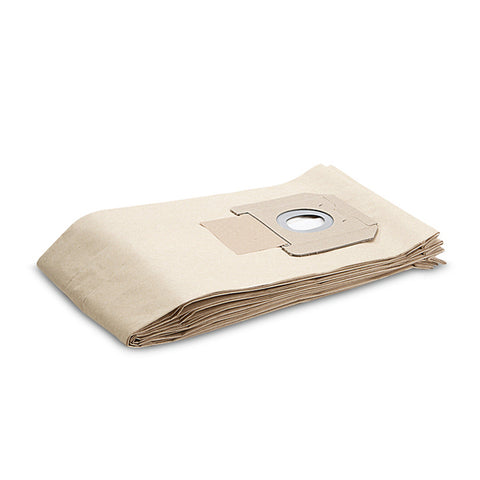KARCHER 5 Pack Filter Paper Vacuum Bags For NT 45/1 & NT 55/1