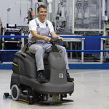 KARCHER B 90 R Adv Dose Bp Ride-on Scrubber Drier With Wet Batteries 9621468