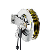 KARCHER Automatic Hose Reel, Stainless Steel 63914210