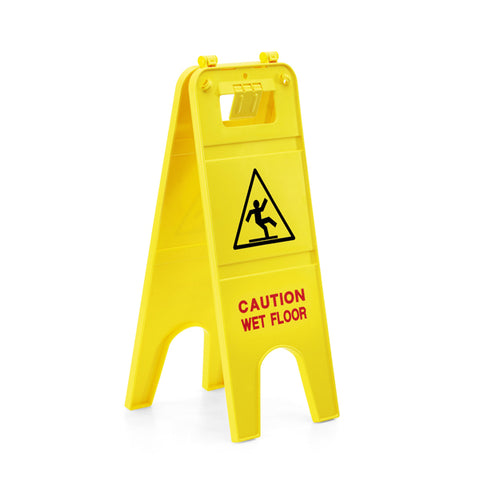 KARCHER Caution Wet Floor Sign, English