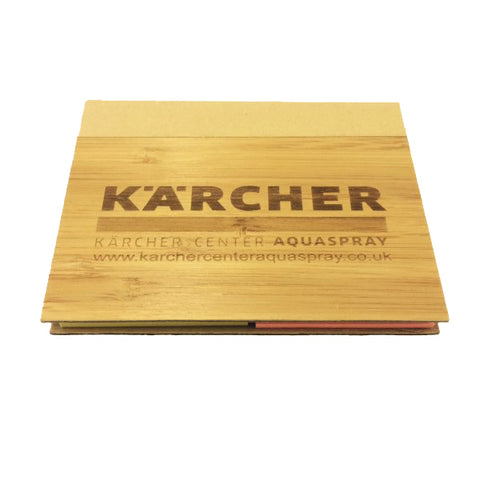 KARCHER Bamboo Sticky Notes Pad