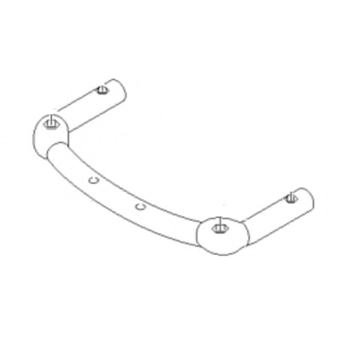 KARCHER Front Retaining Bracket To Fit NT 65/2 AP