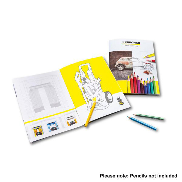 KARCHER For Kids Colouring Book