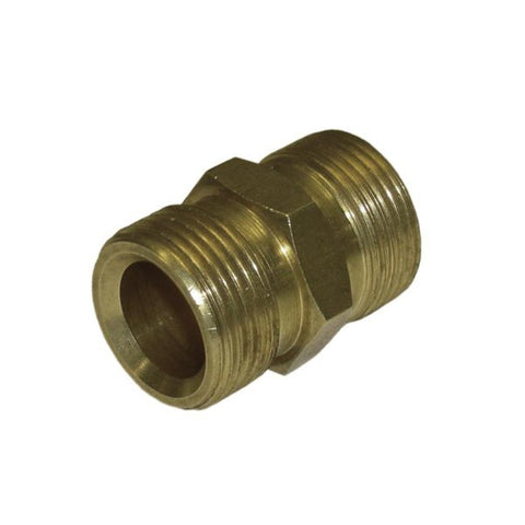 KARCHER Coupling Connecting Hose Both Sides, M22 x 1.5, Brass (Light Version)