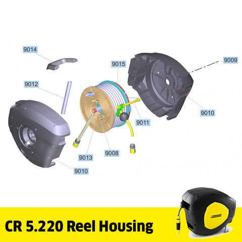 KARCHER CR 5.220 Auto Reel Spare Parts Housing