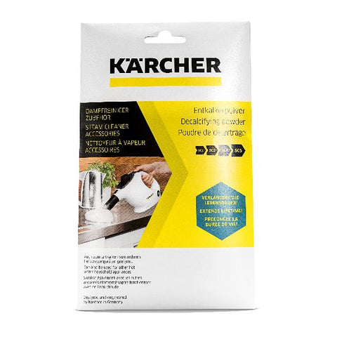 KARCHER Descaling Powder for Steam Cleaners (6x17g)