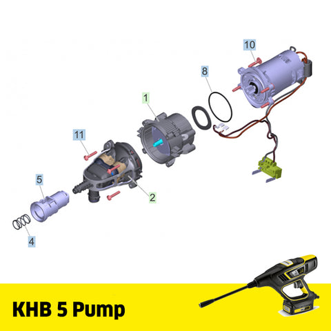 KARCHER KHB 5 Spare Parts Pump