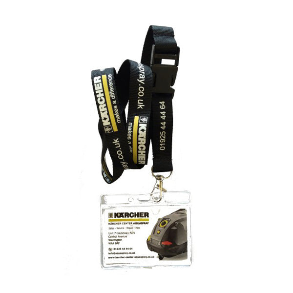 KARCHER Lanyard With Detachable ID Pocket