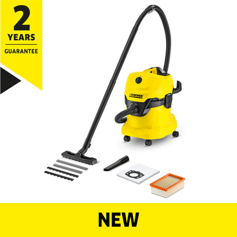 KARCHER WD 4 Wet & Dry Vacuum Cleaner
