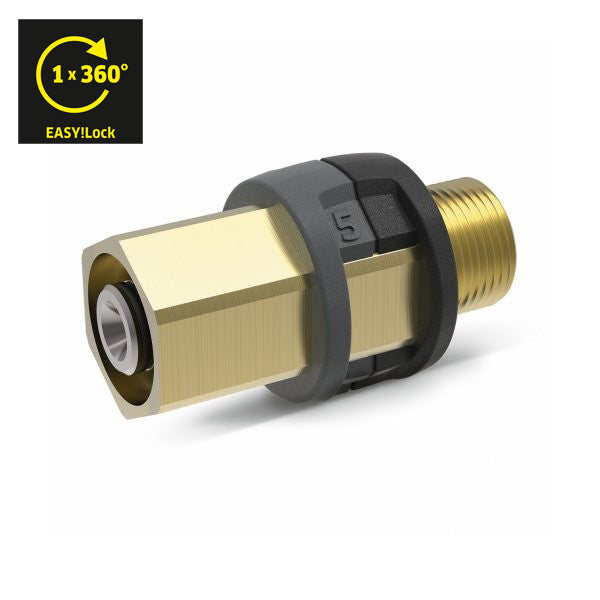 KARCHER Adapter 5 - M22 x 1.5 - EASY!Lock 41110330