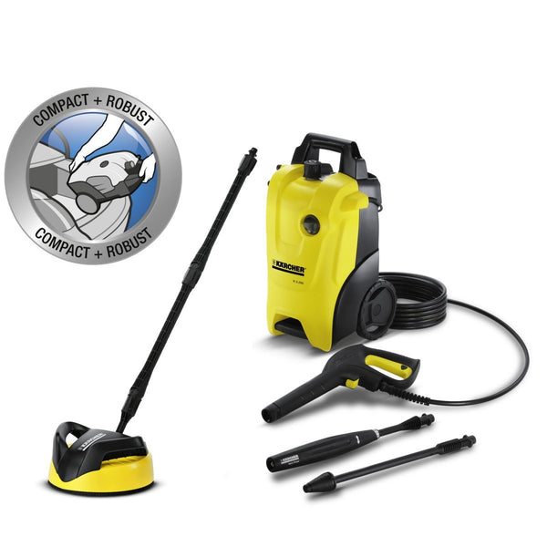 KARCHER K 3.200 Pressure Washer & T250 T Racer NEW COMPACT ROBUST MACHINE 16373020