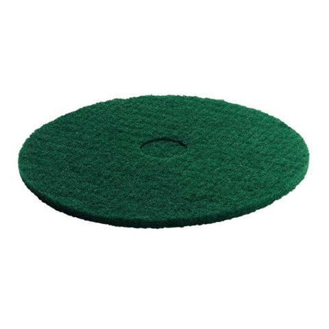 KARCHER 5 Pk Of Pads, Medium-Hard, Green, 356 mm