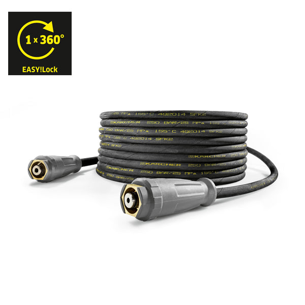 KARCHER High Pressure Hose, 10 m DN 8, AVS Trigger Gun Connector, EASY!Lock 61100310