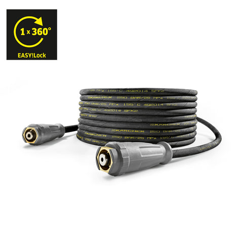 KARCHER Standard High Pressure Hose With Unions Both Sides, DN6, 10m, 250bar, EASY!Lock