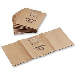 KARCHER 10 Pack Filter Paper Vacuum Bags NT 27/1 95332120