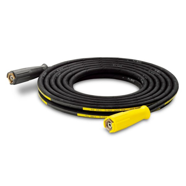 KARCHER Longlife High Pressure Hoses With Unions On Both Sides, 30 m, ID 8, 400 bar, including rotary coupling 63902940