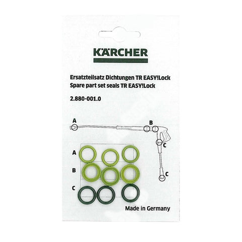 KARCHER Pressure Washer Pack O'Rings To Fit EASY!Lock