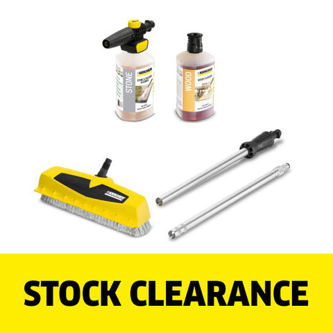 KARCHER PS 40 Power Surface Cleaner & Wood Cleaning Kit NEW
