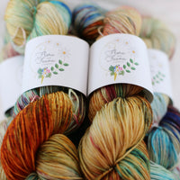 Flora and Fauna Fibres Botanic Sock