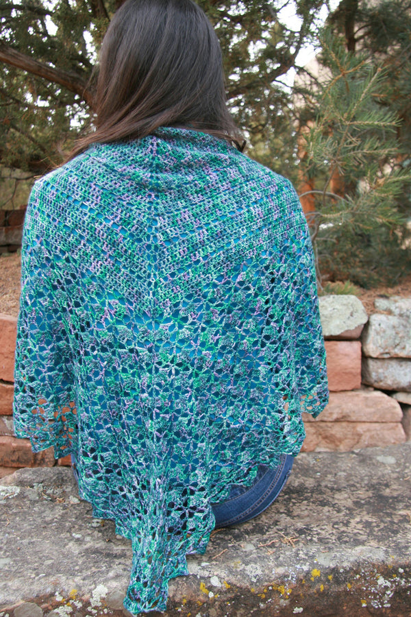 Morcellement Crochet Shawl