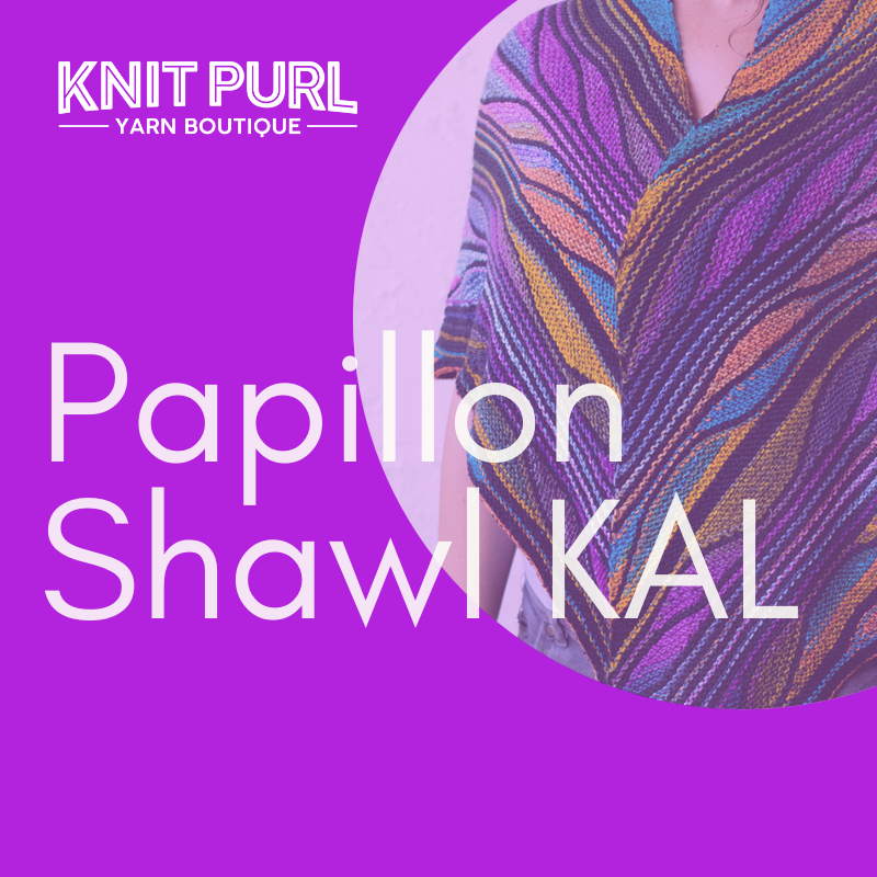 Papillon Shawl KAL - Wednesday Evenings - From 24th July