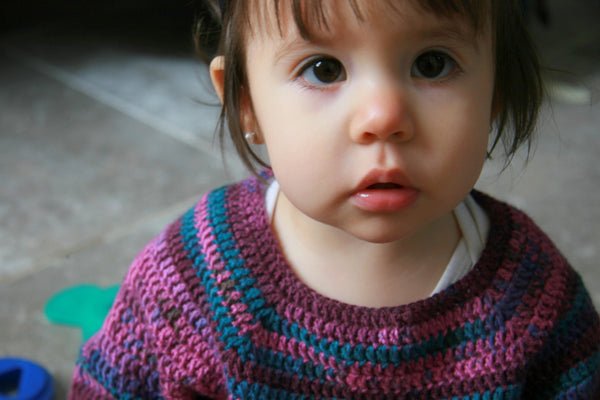 Sweet Shop Crochet Pullover