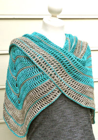Tranquille Crocheted Shawl