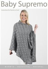 Baby Supremo Diamond Poncho