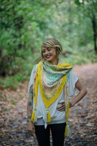What The Fade Shawl by Drea Renee Knits