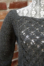 Eventide Crocheted Lace Sweater