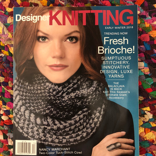 Designer Knitting Magazine 2018 Early Winter