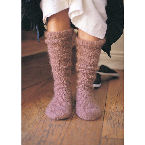 Jo Sharp Mohair Socks Pattern