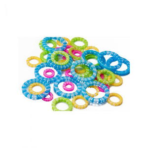 ChiaoGoo Stitch Markers 5-15mm - 4 Sizes